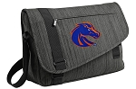 Boise State Messenger Laptop Bag Stylish Charcoal