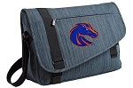 Boise State Messenger Laptop Bag Stylish Navy