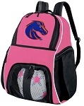 Girls Boise State University Soccer Backpack or Boise State Broncos Volleyball Bag