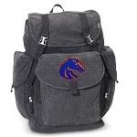 Boise State LARGE Canvas Backpack Black