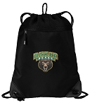 Baylor Drawstring Backpack-MESH & MICROFIBER