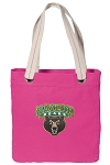 Baylor Tote Bag RICH COTTON CANVAS Pink