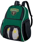 Baylor University Soccer Backpack or Baylor Volleyball Bag Green