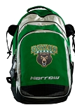 Harrow Field Hockey Lacrosse Backpack Bag Green