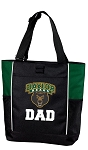 Baylor University Dad Tote Bag Hunter Green