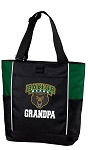 Baylor University Grandpa Tote Bag Hunter Green