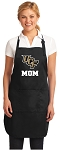 Official University of Central Florida Mom Apron Black