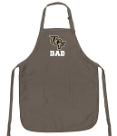 Official UCF Dad Apron Tan
