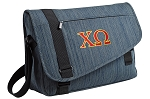 Chi O Messenger Laptop Bag Stylish Navy