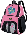 Girls Tri Delt Soccer Backpack or Tri Delt Sorority Volleyball Bag