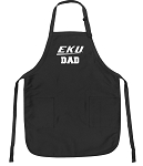 Official EKU DAD Apron Black