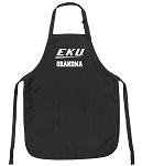 Official EKU Grandma Apron Black
