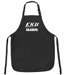Official EKU Grandpa Apron Black