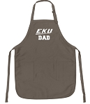 Official Eastern Kentucky Father Logo Apron Tan