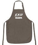 Official Eastern Kentucky Grandfather Logo Apron Tan