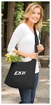 EKU Tote Bag Sling Style Eastern Kentucky Shoulder Bag Black