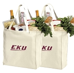 EKU Shopping Bags Eastern Kentucky Grocery Bags 2 PC SET