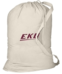 Eastern Kentucky Laundry Bag Natural