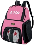 Girls EKU Soccer Backpack or Eastern Kentucky Volleyball Bag