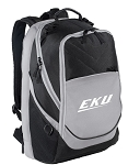 Deluxe EKU Computer Backpack Black & Gray