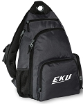 Eastern Kentucky Backpack Cross Body Single Strap Style Gray