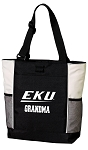 EKU Grandma Tote Bag White Accents