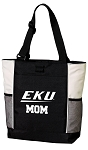 EKU MOM Tote Bag White Accents