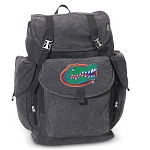 Florida Gators LARGE Canvas Backpack Black
