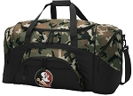 Official Florida State University Camo Duffel Bags