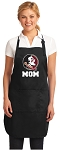Official Florida State Mom Apron Black