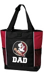 Florida State Dad Tote Bag Red