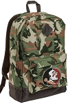 FSU Camo Backpack