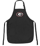 Official University of Georgia Apron Black