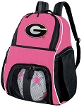 Girls University of Georgia Soccer Backpack or Georgia Bulldogs Volleyball Bag