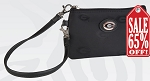 University of Georgia Wristlet Purse LIMITED EDITION