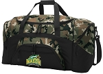 Official George Mason University Camo Duffel Bags