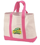 George Mason University Tote Bags Pink