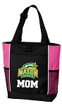 George Mason Mom Tote Bag Pink