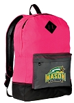 GMU Backpack HI VISIBILITY George Mason University CLASSIC STYLE For Her Girls Women