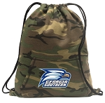 Georgia Southern Drawstring Backpack Green Camo