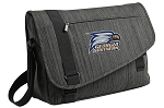 Georgia Southern Messenger Laptop Bag Stylish Charcoal