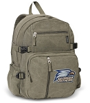 Georgia Southern Canvas Backpack Olive