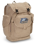Georgia Southern LARGE Canvas Backpack Tan