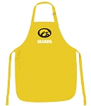 Deluxe University of Iowa Grandpa Apron - MADE in the USA!