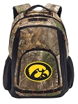 Iowa Hawkeyes RealTree Camo Backpack