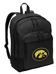 University of Iowa Backpack - Classic Style