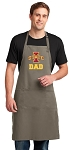 Iowa State Dad Large Apron Khaki