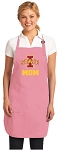 Iowa State Mom Apron Pink - MADE in the USA!