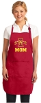 Iowa State Mom Aprons Red