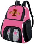 ISU Iowa State Girls Soccer Backpack